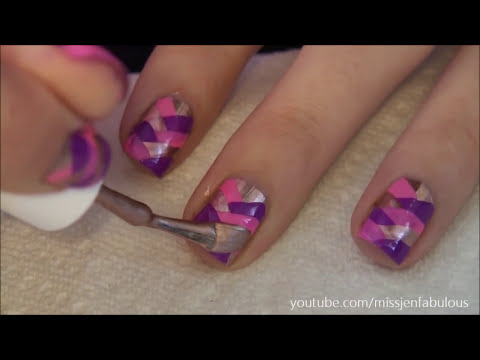 How To: Fish Tail Braid Manicure