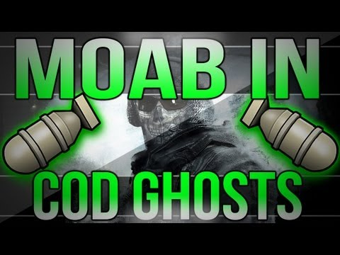 MOAB In Call Of Duty Ghosts!?