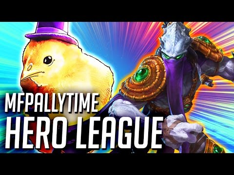 MFPALLYTIME HERO LEAGUE | Heroes of the Storm Hero League Gameplay | Squadron HotS Gameplay