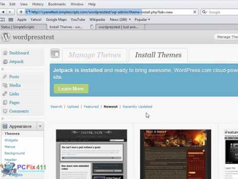 0 Install Wordpress Blog Software