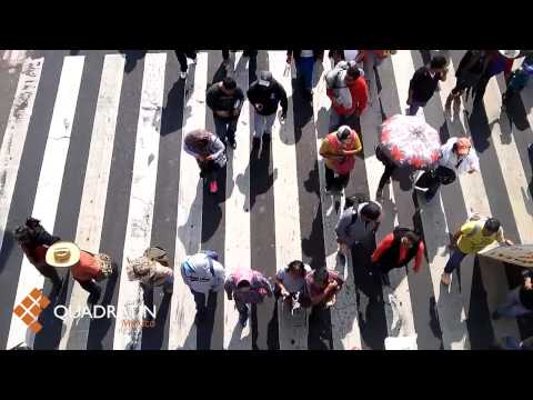 Estrangulan marchas el Distrito Federal