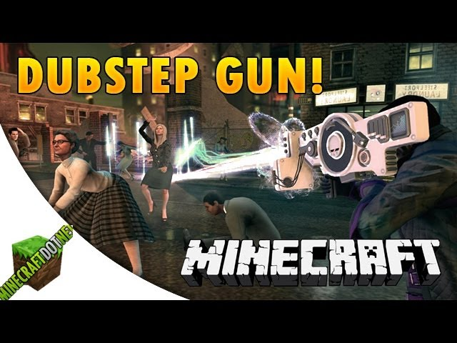 Bike Mod Minecraft 1.7.2 DUBSTEP GUN MOD Minecraft