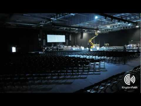 Time lapse of the set up in The Arena for Faith Camp (2011). Faith Camp 2013: 27 July - 3 August, East of England Showground, Peterborough When thousands of people from many nations gather...