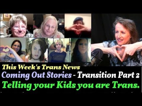 Transgender Zone Vlog Episode  25 Oct 28th, 2013    Telling Your Children You Are Transgender.