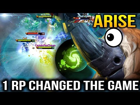 They Think It's all OVER but Arise's Magnus Had an RP Dota 2