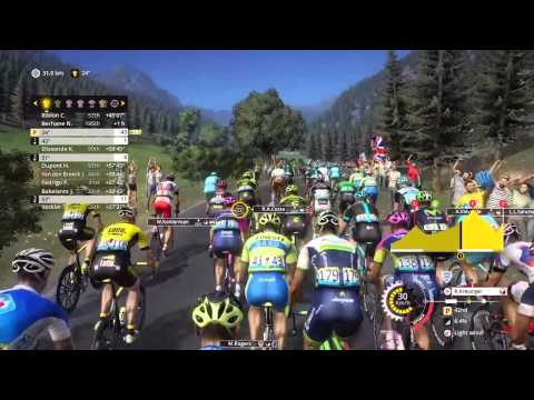 Tour de France 2015 - PS4 - Stage 17 - Tinkoff isolated Nibali