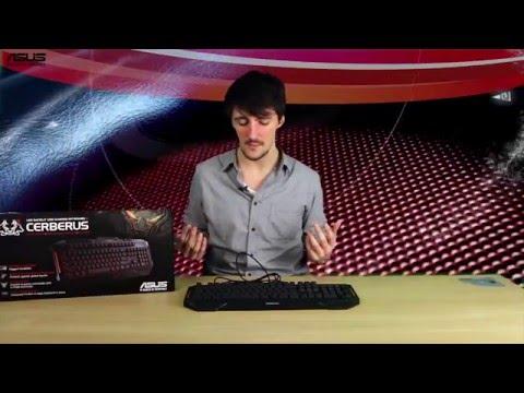 ASUS Cerberus SPLASHPROOF keyboard review + test