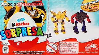 Transformers: Robots in Disguise Kinder Sorpresa