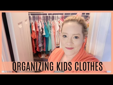 ORGANIZING KIDS CLOTHING | CLOSET AND DRAWER ORGANIZATION FOR KIDS