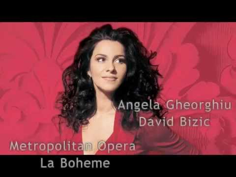 Angela Gheorghiu & David Bizic- Act 3 Duet, Mimi Marcello, La Boheme Metropolitan Opera