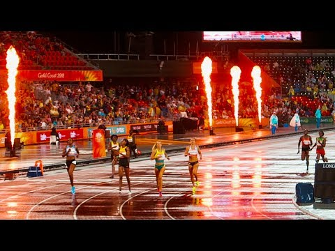 MY DAY AT THE COMMONWEALTH GAMES 2018
