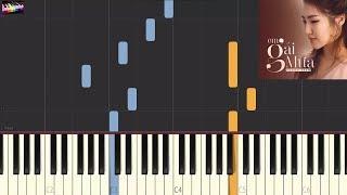 Hương Tràm - Em Gái Mưa | Piano Tutorial by C.Q.L