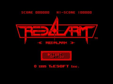 Virtual Boy Longplay [02] Red Alarm (3D)