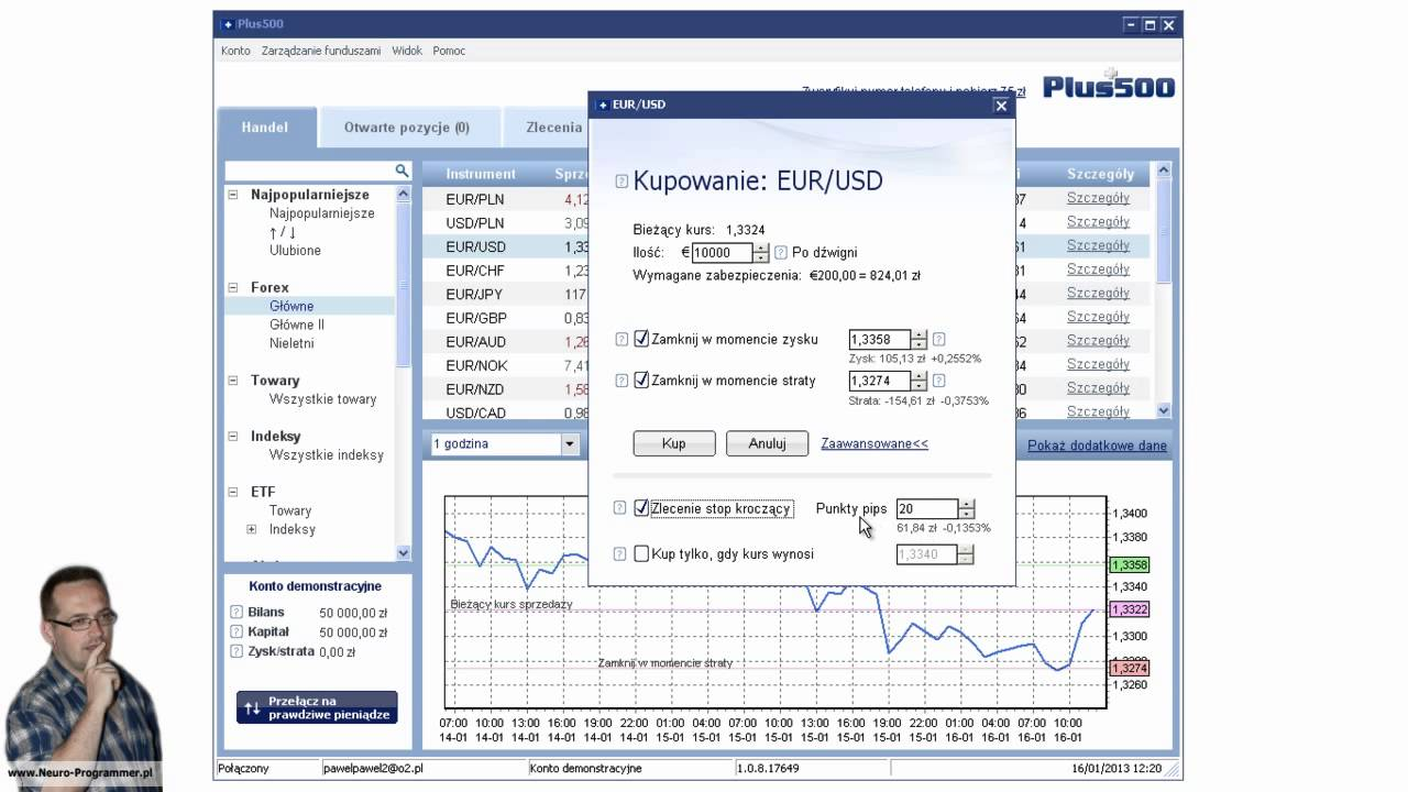 Forex plus500 pl