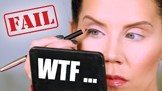 $57 EYELINER FAIL ... WTF | First Impressions