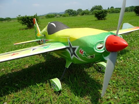 HobbyKing MXS EPP/Light Plywood 3D Aerobatic Plane 1220mm
