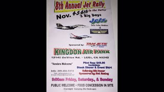8TH ANNUAL RC JET RALLY AT KINGDON AIR PARK PHANTOM 4