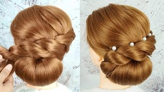 How To Make Easy Hairstyle At Home For Party - Everyday Hairstyles   Cute New Hairstyles 2019