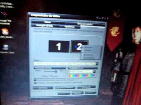 Como ativar recurso multitela/tela dupla no Windows XP