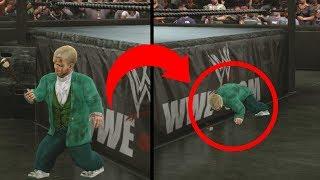 10 Greatest Secrets & Easter Eggs In WWE Games