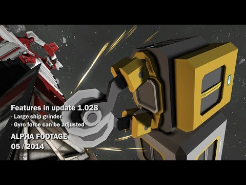 Space Engineers - Large Ship Grinder