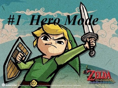 Popular video games:The Legend of Zelda: The Wind Waker HD. HERO MODE play through part1