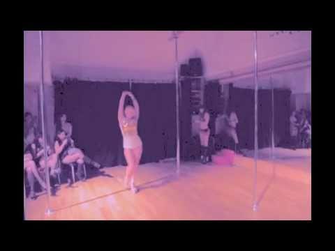 Sexy Booty Shaking Pole Dance Tyga & Travic Mccoy Coconut Juice video