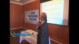 Part 4 : Billionaire Dr. M S Reddy giving Speech @ TEA