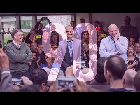 Introducing Microsoft's new CEO, Satya Nadella: 90 Seconds on The Verge