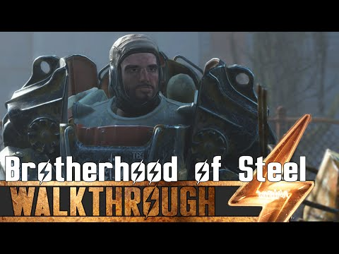 Fallout 4 - How to Join The Brotherhood of Steel Guide