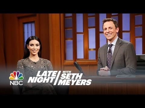 Kim Kardashian Interview - Late Night with Seth Meyers