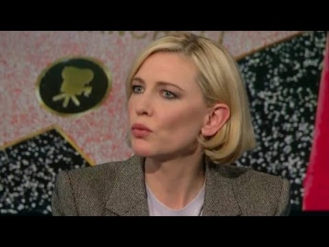 Cate Blanchett: Women want to rebuild Syria