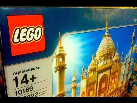 BIGGEST Lego Set EVER! 5922 PIECES! Lego Taj Mahal Toy Review by Mike Mozart