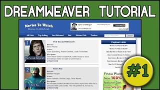 Dreamweaver CS5 Tutorials For Beginners Up