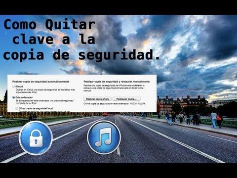 NotiApple - Como Quitar la Contraseña de la Copia de Seguridad de