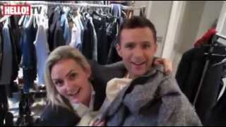 Harry Judd (Mcfly) and Izzy Johnston Engagement Shoot for Hello Magazine