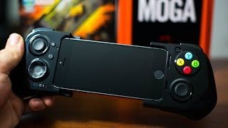 Moga Ace Power Gaming Controller For iPhone 5S/5C/5 & iPod Touch 5G – Hands On Demo & Review