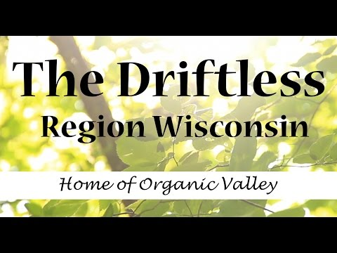 Living in the Driftless Region