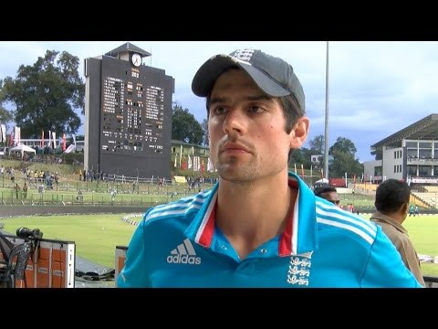 Alastair Cook disappointed after England lose ODI series to Sri Lanka