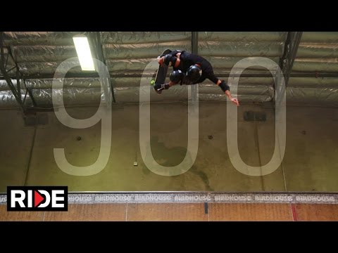 Tony Hawk Lands 900 At 48!