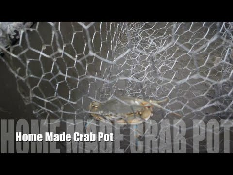 how to make blue crab traps