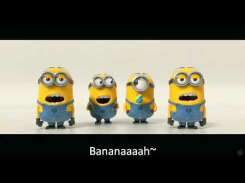 Banana and Potato Song with Subtitled Lyrics (Despicable Me 2 Trailer) Music Videos