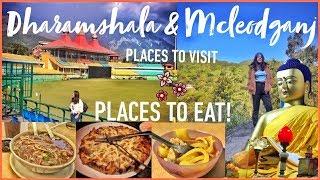 #QuirkyVlogs: EXPLORING Dharamshala & McLeodganj | BEST PLACES TO VISIT & EAT