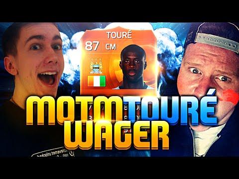 MOTM YAYA TOURE WAGER VS BEHZINGA