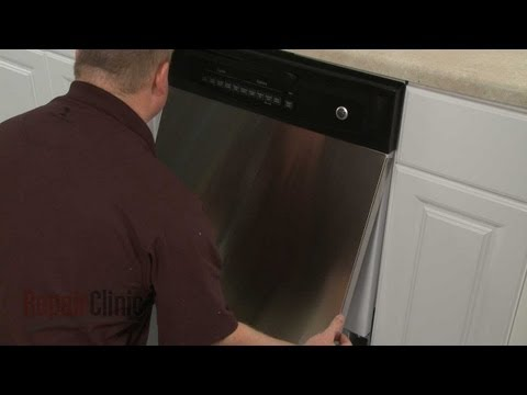 Outer Door Panel - GE Dishwasher