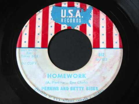 Al Perkins&Betty Bibbs - Homework .wmv
