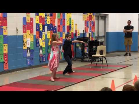 (Movie: Dirty Dancing) I had the time of my life!!  Kids in School talent show thumbnail