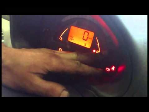 Сброс межсервисного интервала Peugeot Citroen