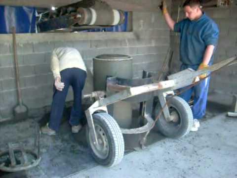 Concrete pipe manhole machine METALIKA C-1200 Mašina za betonske cevi i šahte
