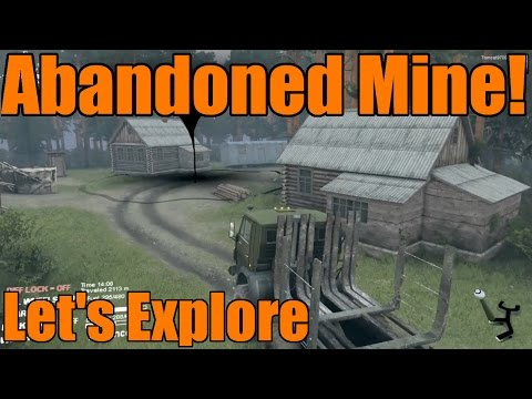 Spin Tires | Epic Abandoned Mine Map! | Exploration | Part One